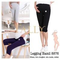 Celana Legging Hamil Selutut - Celana Legging Hamil Tally 8876