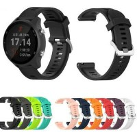 STRAP TALI JAM RUBBER MODEL GARMIN SAMSUNG GALAXY WATCH ACTIVE 2 42mm