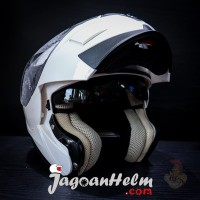 ZEUS HELM ZS3020 | SOLID WHITE | ZS-3020 MODULAR