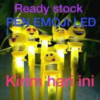 PULPEN EMOJI LED- PEN PEL EMOJI LED-PEN BONEKA