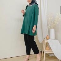 Nona Top Emerald by Iymelsayshijab