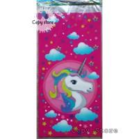 Plastik Snack Ulang Tahun / Plastik Souvenir Unicorn Pink