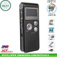 Digital Voice Recorder USB Free Internal Memori 8Gb MP3 Player Perekam