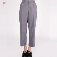 Celana Panjang Wanita / Emina Grey Pants 43036T4GY - Bodytalk