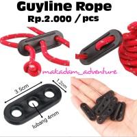 stopper guyline pengencang tali flysheet tenda