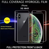 HYDROGEL IPHONE XS MAX 6.5 ANTI GORES SCREEN PROTECTOR FULL COVER