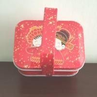 Souvenir Chinese wedding tempat kaleng tin cocok u/permen,cookies,dll