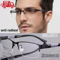 kacamata anti radiasi blue Ray frame titanium