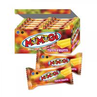 Momogi Stick rasa Tutti Frutti / Buah 8 gram ( 1 box isi 20 pcs )