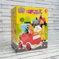 Fun Doh Fire Fighter - Lilin Mainan Anak FunDoh / PlayDoh / Play Doh