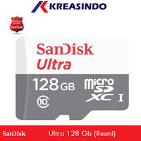 Sandisk Ultra Microsd 128gb 80MB/s Garansi Resmi