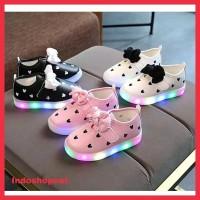 Sepatu Led Bayi/Anak Perempuan Impor 1-3 Tahun Original Berkualitas