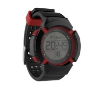 Jam tangan pria running watch training watch black red
