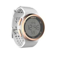 Jam tangan pria running stopwatch white waterproof water resistance
