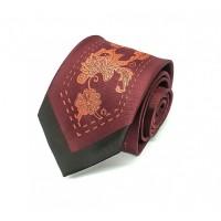Houseofcuff Dasi Neck Tie Red Maroon Batik Center Tie