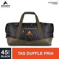 Eiger Z-Fardel 1F Duffle Bag 45L - Black