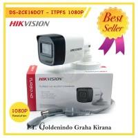 KAMERA CCTV OUTDOOR HIKVISION 2MP MIC AUDIO DS -2CE16DOT -ITPFS