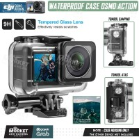 Waterproof Case for DJI OSMO ACTION CAMERA Housing Underwater Diving