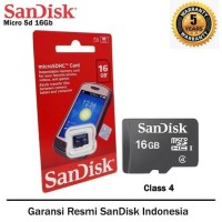 MEMORY MICRO SANDISK 16GB