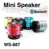 Speaker Bluetooth Mini Mega Bass Portabel WS 887 Music Box