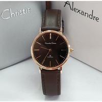Jam Tangan Wanita Alexandre Christie AC 8625 Original - Rosegold Brown