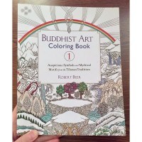 Buddhist Art Colouring Book1 By Robert Beer Adult Colouring Buku Impor