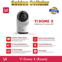 Xiaomi Xiaoyi YI DOME X 1080P 360 IP Camera Smart CCTV Garansi Resmi