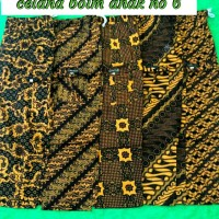 celana panjang batik betawi / celana boim anak