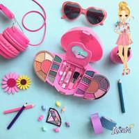 Amara Beauty Kit Magical Heart Gift Set / Kosmetik Gift Set Anak