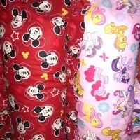 paket murah 3 sarung bantal cinta anak2/imut karakter kartun anak
