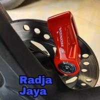 Kunci Gembok Disk Piringan Cakram Motor Original Aksesoris Honda