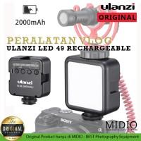 Ulanzi Video Led VL49 RECHARGEABLE BATTERY 2000MAH Lampu Studio Vlog