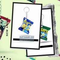 sovenir gantungan kunci miniatur snack lucu unik murah