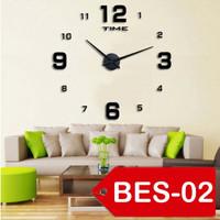 Jam Dinding Besar Raksasa Giant Wall Clock 80-130cm Diameter