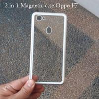Case Magnetic Oppo F7 Premium Case 2in1 Magnetik Case Oppo F7