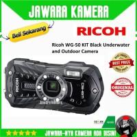 RICOH WG-50 KIT - Ricoh WG-50 KIT warna Hitam