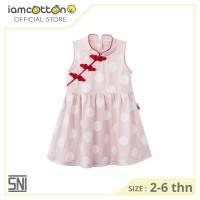 Dress anak perempuan /Baju Imlek/ Cheongsam - I am Cotton Dress Avery