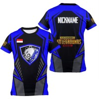Kaos Jersey Game Esports Mobile Legend Free Fire PUBG CUSTOM BX2611A