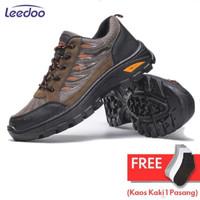 Leedoo Sepatu Hiking Gunung Pria Non-Slip Sepatu Outdoor Pria MH201