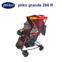 Stroller bayi murah pliko grande 268 R dorongan bayi bisa ayun dorong