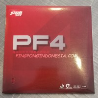 DHS PF4 - Red - Rubber/Karet Pingpong Tenis Meja Bat Bet