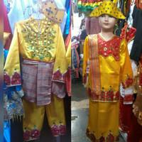 Pakaian Baju Termurah Adat Anak Gorontalo Size S - M Lk/Pr