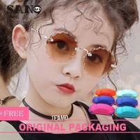 Promo Fashion Cute Korea Bunga Berbentuk Anak Kacamata Anak Kacamata