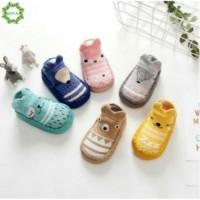 Promo [COD/QIPIN] 1pair Fashion Sepatu Bayi Prewalker Kaos Kaki Anak