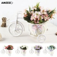 Buy It Amee 1Pc Artificial Flower Rattan Basket Tricycle Store Party