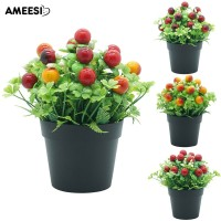 Buy It Amee 1Pc Artificial Flower Fruit Miniascape Store Table Decor