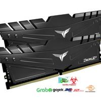 MEMORY RAM PC TEAM T-FORCE DARK Z ALPHA DDR4 PC25600 3200MHZ 16GB(2x8)