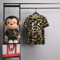 KAOS T-SHIRT BAPE MIRROR BEST PERFECT CLONE ORIGINAL QUALITY 1:1 GREEN