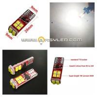 Lampu LED Senja Kota Sein CREE 3030 12 mata 12v 24v Pollux V2 Extrime