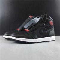 Air Jordan 1 Satin Black Gym Red PK 1:1 Authentic